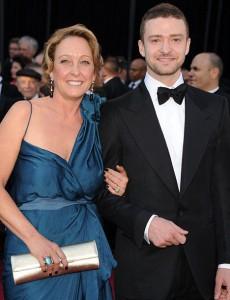 Джатсин Тимберлейк со своей мамой