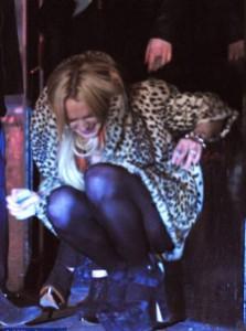 Линдси Лохан отдохнула в клубе с друзьями