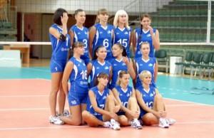 Российские волейболистки стали лучшими в Европе