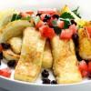Саганаки — сырная закуска по-гречески