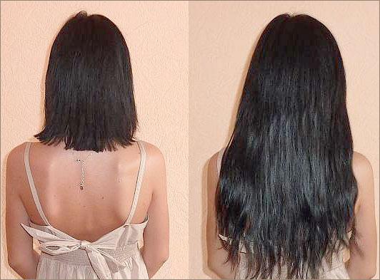 Наращивание волос у частного мастера